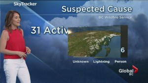 B.C. evening weather forecast: May 22